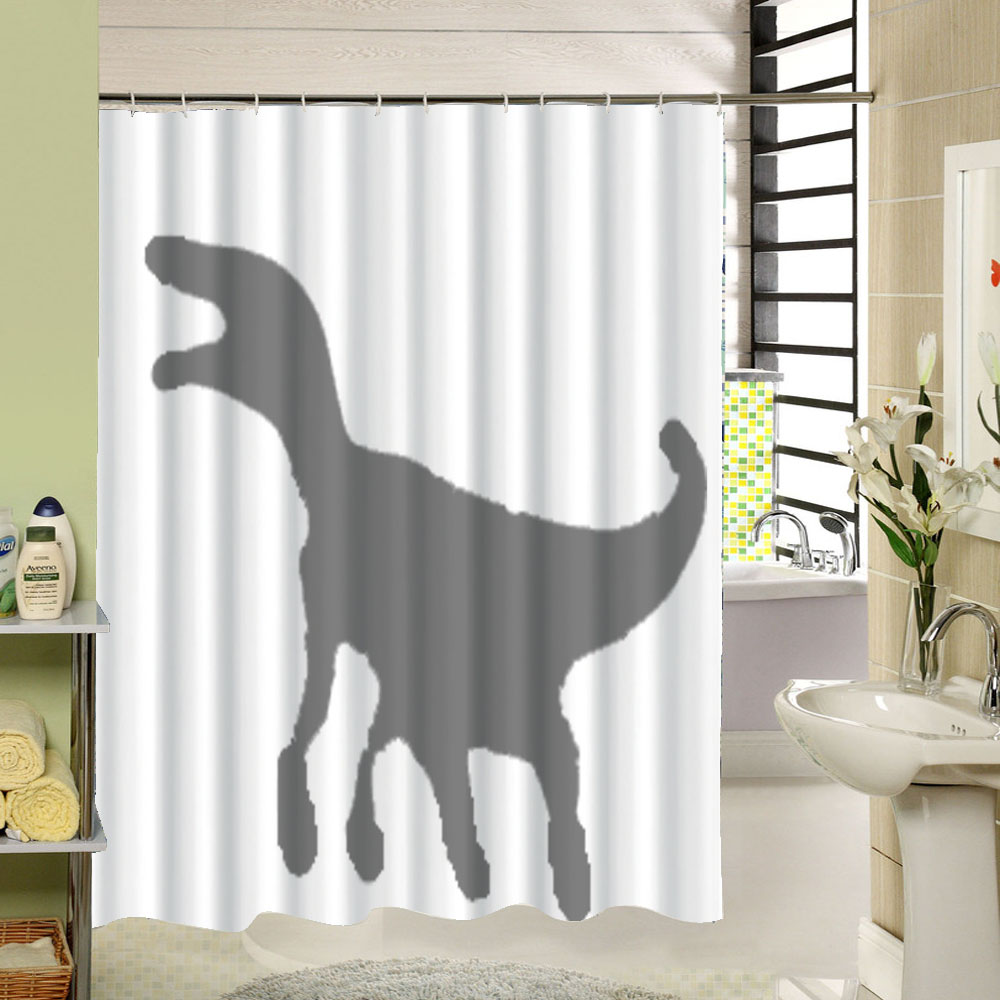 Scary Shower Curtain Polyester Fabric Quick Dry 3d Print Bathroom Decorative In Curtains From Home Garden On Aliexpress