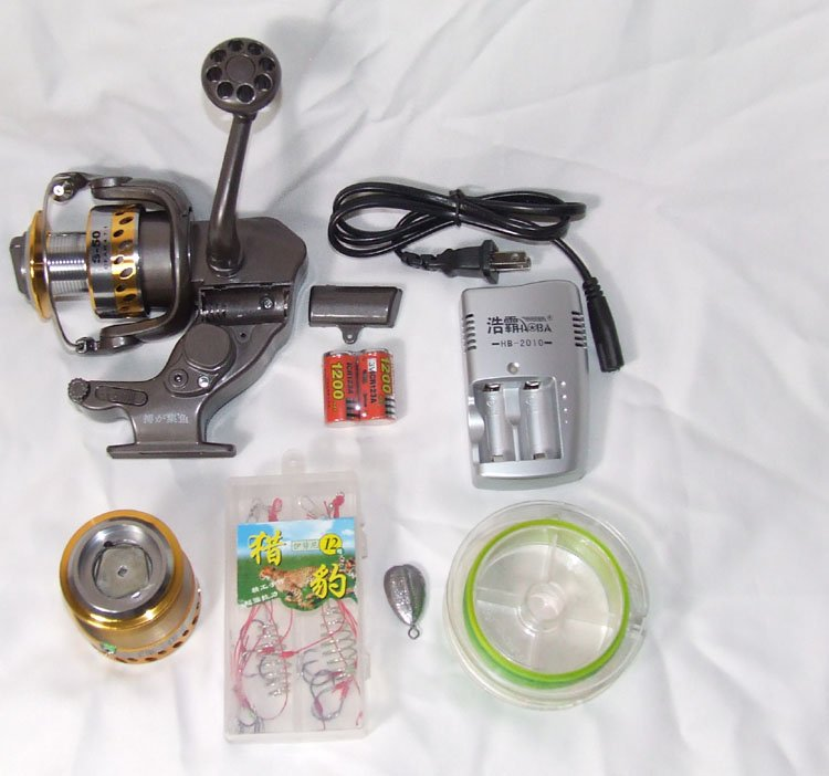 aliexpress : buy free shipping electric fishing reel auto reel, Reel Combo