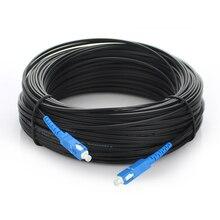 100 M Ftth Kabel Patchkabel SC auf SC Simplex single mode Fiber Optic Jumper SM Faser optic Jumper Kabel