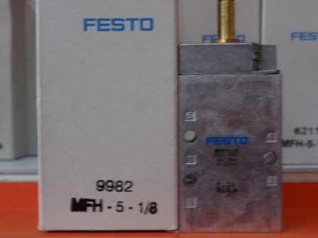 MFH-5-1/8 9982 solenoid valves  body  FESTO without Coil free shippingMFH-5-1/8 9982 solenoid valves  body  FESTO without Coil free shipping