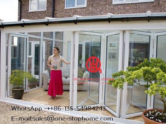 Interior Room Dividers Soundproof Insulated Glass Aluminium Bi-Folding Doors,Australian Standard Bi Fold Door,Folding Door