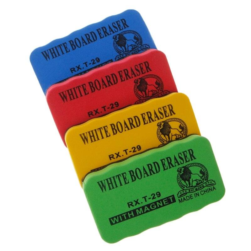 1pc Magnetic Board Dry-Wipe Whiteboard Eraser Marker Cleaner Dry Erase Board Kids School Office Supplies