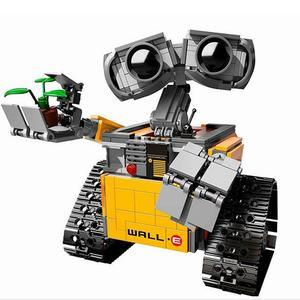 687 Pcs Legoings Ideas WALL E