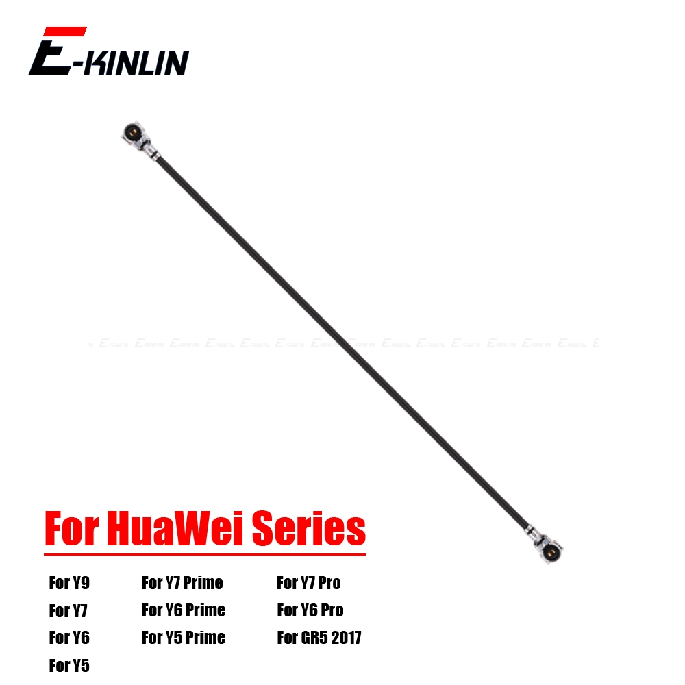 For HuaWei Y9 Y7 Y6 Pro Y5 Prime 2019 2018 GR5 2017 Antenna Signal Wifi  Coaxial Connector Aerial Flex Cable Ribbon