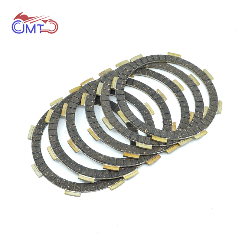 For Honda CB250 Nighthawk 1991-2007 Rebel CMX250C 1985-1987 1996-2017 CMX250X 2015-2017 Clutch Friction Disc Plate Kit 6 Pieces