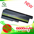 Golooloo 42t4513 batería del ordenador portátil 6600 mah para lenovo para ibm thinkpad r60 r60 t60 t60p r500 t500 w500