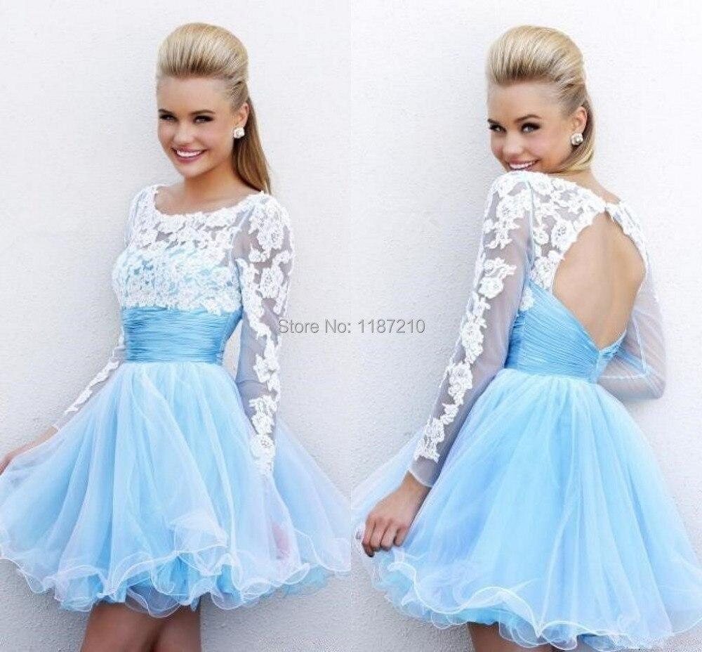 Fantastisch Kurzes Baby Blue Prom Kleider Bilder - Hochzeit Kleid ...