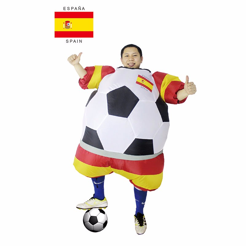 Adult Football Costumes World Cup Inflatable Outfit s Fancy Dress Blow Up Suits (2)
