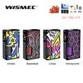 Wismec Luxotic Oberfläche 80W Luxotic Oberfläche Box MOD mit 6,5 ml Flasche Passt KESTREL Tank E-Zigarette Vape box Mod Vs Luxotic BF