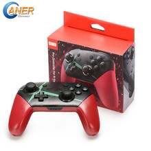 Ganer NEW For Switch Pro Bluetooth Wireless Controller For NS Splatoon2 Remote Gamepad For Nintend Switch Console Joystick(China)