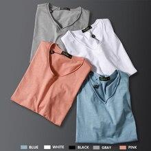 Бамбуковое нижнее белье для мужчин пижамы короткий рукав ночная рубашка Лоскутная пустая белая рубашка свободные пижамные повседневные пижамы Домашняя одежда для мужчин s