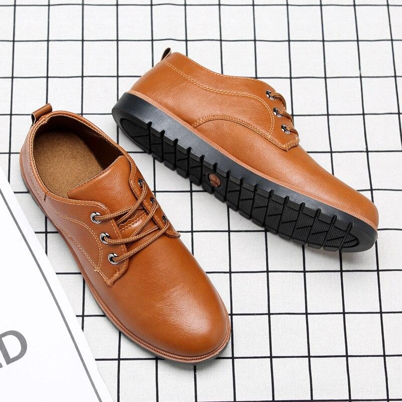 Da De 2018 Moda Clássico Negócios Calçados Weddi Dos Homens Shoesmen Party Sapato Das Vestido Brogue Couro Office nSSx4