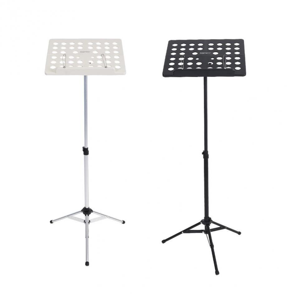 Flanger FL-05R Folding Music Stand Adjustable Aluminum Alloy Music Stand Bracket Tripod Holder aluminium alloy professional fl 05r foldable small music stand musical instrument with double quilted carry bag 4 colors