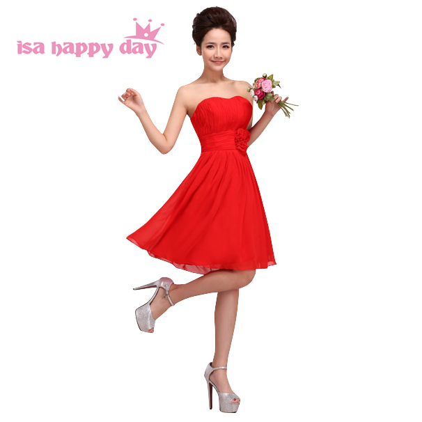 70275f40acb2 multi color red short strapless sweetheart plus size prom special dresses  for woman knee-length
