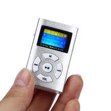 A conveniência de moda venda Quente USB Mini MP3 Player Tela LCD Suporte 32 GB Micro SD Cartão de TF 17Dec22