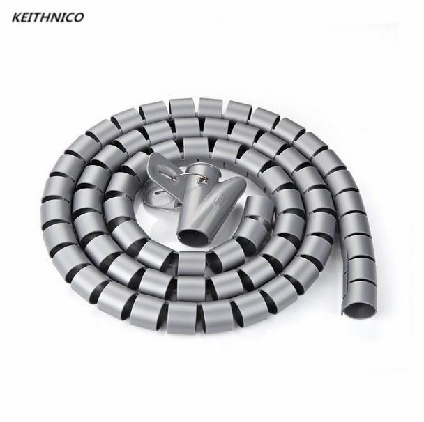 Aliexpress.com : Buy KEITHNICO 1M 3Ft 10mm Flexible Spiral Tube ...