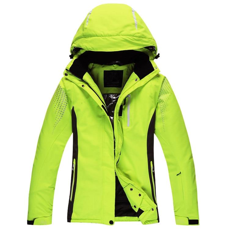 Winter Ski Jacket Men Outdoor Thermal Waterproof Windproof Breathable Ski Snowboard Jackets 30 Degree Snow Ski