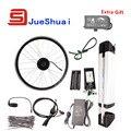 Melhor Preço $235 Simples Kit Bicicleta Elétrica Com Bateria de 36 V Chaleira E Bicicleta kit 250 W 350 W 500 W do motor Opcional JSE-ZM-008