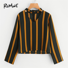 BONJEAN Women's Shirts 2018 V-neck Pleated Loose Custom Color Chiffon VB1