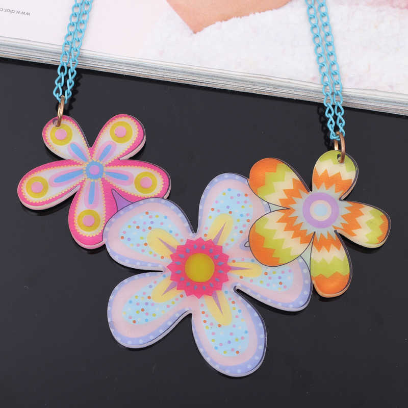 Bonsny kwiaty piękne nowy 2014 wiosna/lato styl naszyjniki i wisiorek dla dziewczyn projekt styl kobieta mężczyzna biżuteria słodkie moda