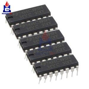 5 шт./лот микросхемы IC SN74HC595N 74HC595 74HC595N HC595 DIP-16 8-битный модуль переключения