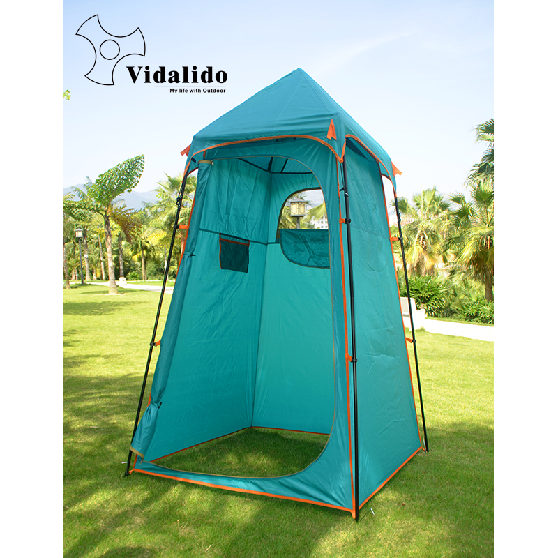 Vidalido shower tent camping beach fishing tent awning/Model changing room in outside take photography outdoor tent outdoor camping hiking automatic camping tent 4person double layer family tent sun shelter gazebo beach tent awning tourist tent