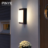 LED Wall Light Waterproof Modern LED Wall Lamp Courtyard Garden Outdoor Lighting