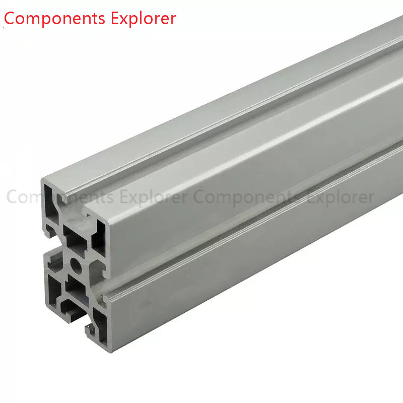 Arbitrary Cutting 1000mm 4060 Aluminum Extrusion Profile,Silvery Color.