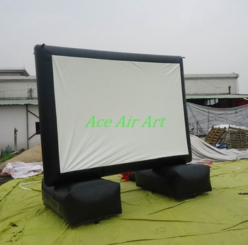 16:9 Outdoor Inflatable Air Screen, Movie Screen inflatable television