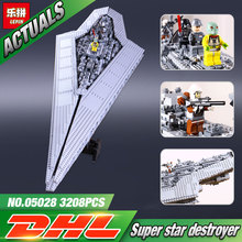 Lepin 05028 Building Blocks toy Star Wars Execytor Imperial Destroyer Model Block Brick Compatible 10221