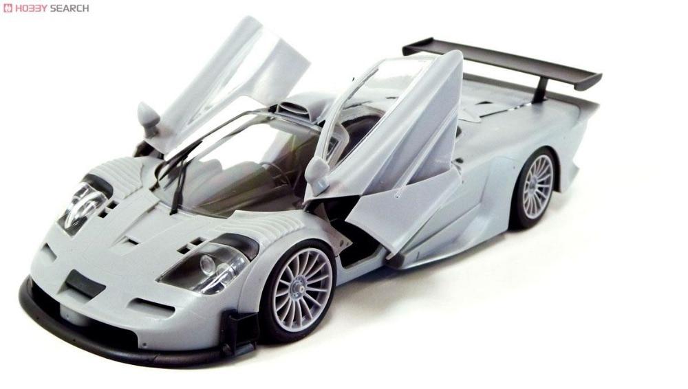 AOSHIMA MODEL 1/24 SCALE models #00744 McLaren F1 GTR 1997 plastic