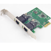 PCI-Express Dual Gigabit Ethernet Controller Card RTL8111E chipset high performance 10/100/1000 BASE-T Ethernet LAN controller