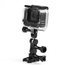 New 360 Degree Rotating Joint Adapter Mount for Gopro Hero 5 4 3 Session Xiaomi Yi SJCAM SJ4000 Action Camera Accessories