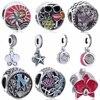 Slovecabin Original 925 Sterling Silver Flowers Beads For Jewelry Making Fit Charm Pandora Bracelet Diy Vintage