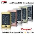 5YOA RFID Teclado Táctil Puerta de Control de Acceso Impermeable 125 KHZ Sistema de Control de Acceso con KDL Metal Shell Funda Teclado Retroiluminación