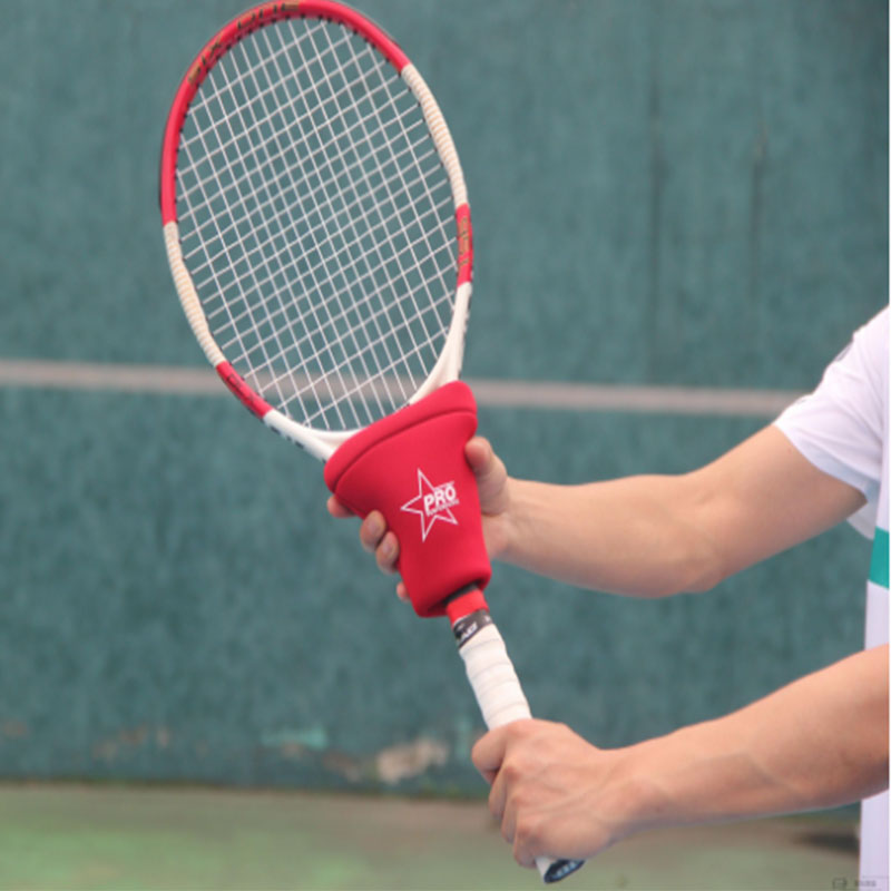 Portable Tennis Trainer Swing Weight Control Device Arm Muscle Strength Racket Tennis Training Tool Outdoor Sports Accessories