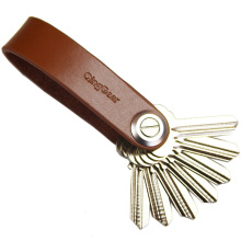 QingGear Lkey Key Holder Handcrafted Leather Organizer Elegant and Practical Tool Trave Kits Free Shipping