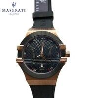 Maserati мужские часы 2018 Модный Топ Роскошные брендовые Кварцевые наручные часы Круглый Водонепроницаемый спортивные наручные часы R8853123010