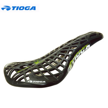 Tioga Hollow Chromoly Rails Carbonite Composite Shell Bmx Mtb Fixed Gear Fixie Bike Bicycle Cycling Saddle Seat, 5color