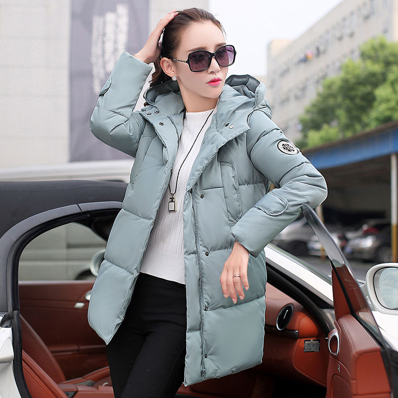 Plus Size Women Duck Down Coats 2016 Fashion New Brand Clothing Thick Warm Hooded Parkas Winter Jacket and Coat Manteau Femme