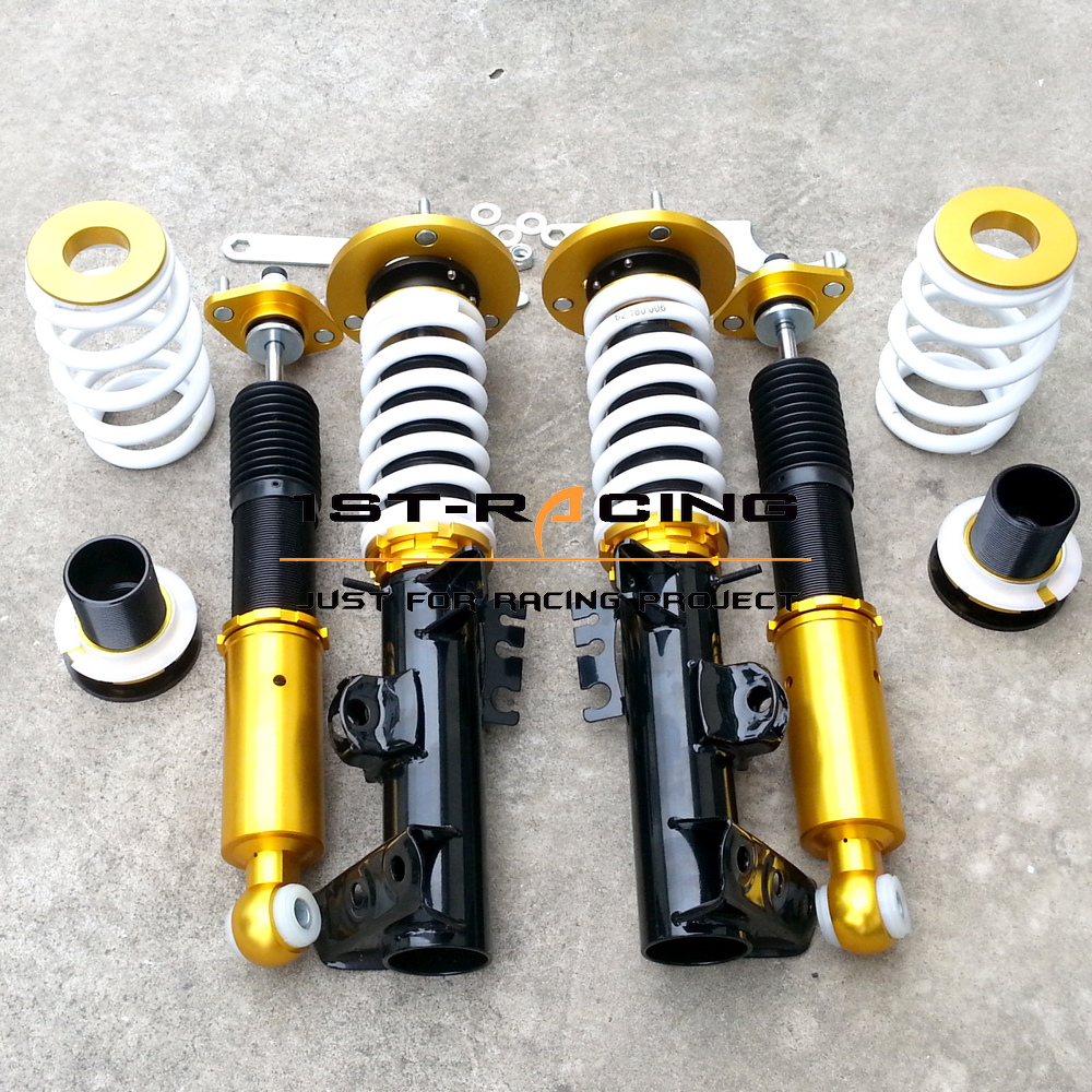 32 way adjustable damper coilover shock absorber suspension kit for bmw e36 318 323 325