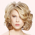 Short Blonde Wig Natural Cheap Hair Wig Short Curly Pixie Cut Wig Synthetic Hair for Women Sale