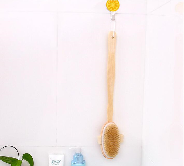 bath bristle brush