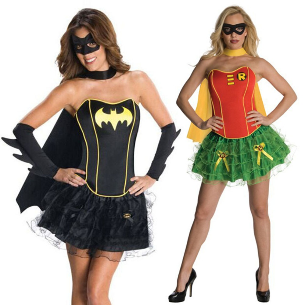 Online Get Cheap Red Robin Costume Aliexpresscom  sc 1 st  Meningrey : batman and robin girl costumes  - Germanpascual.Com