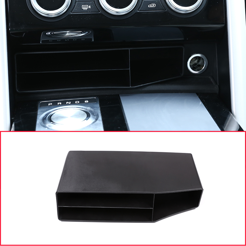 For Land Rover Discovery 5 LR5 2017 Car Styling Plastic Central Console Multifunction Storage font b