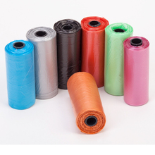 3 Rolls 45 pcs Garbage Bag Cats Pooper Bags Biodegradable Pet Dogs Waste Dog Cat Cleaning Up Refill