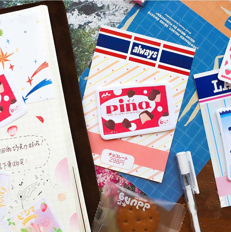 Mohamm удобство магазин серии Kawaii милый липкий блокнот для заметок дневник канцелярские хлопья скрапбук декоративные Липкие заметки