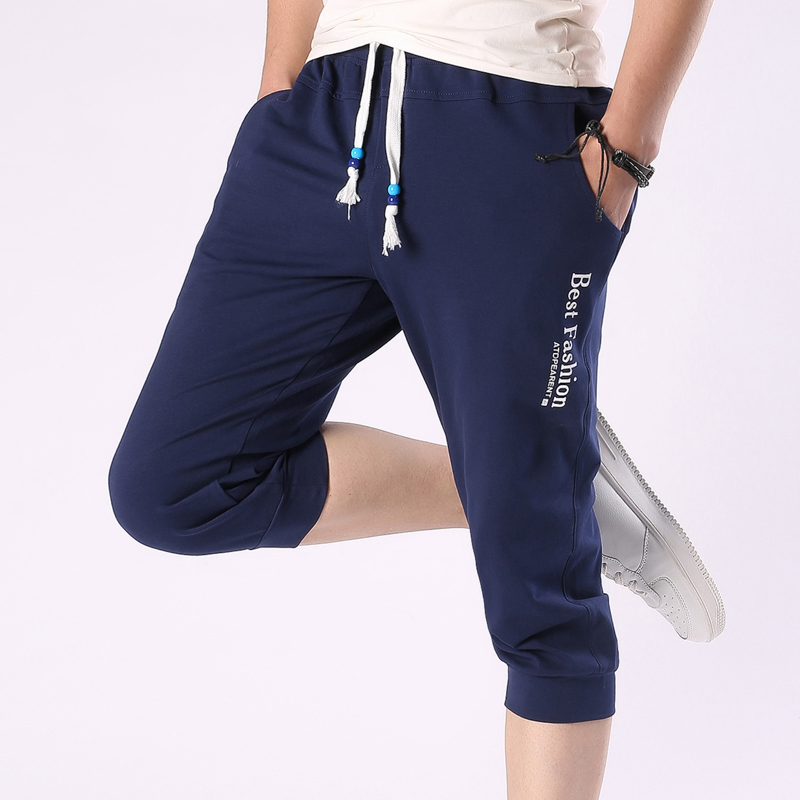 Aliexpress.com : Buy New Brand Clothing Mens Cropped Pants ...