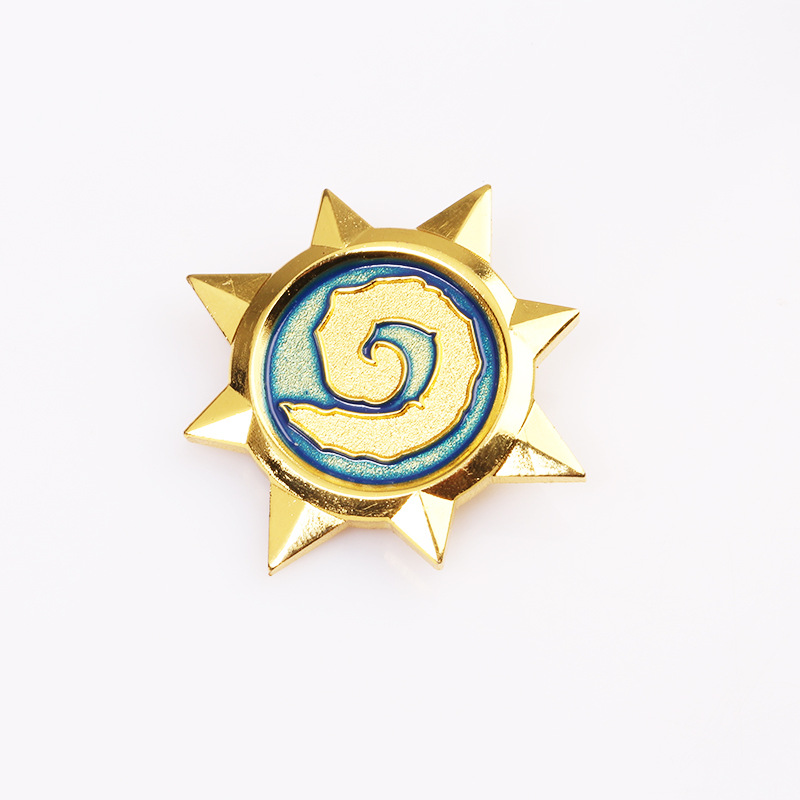 Hallowmas wish blizzard games The new BFS legend brooch The badge movies animation props Cosplay