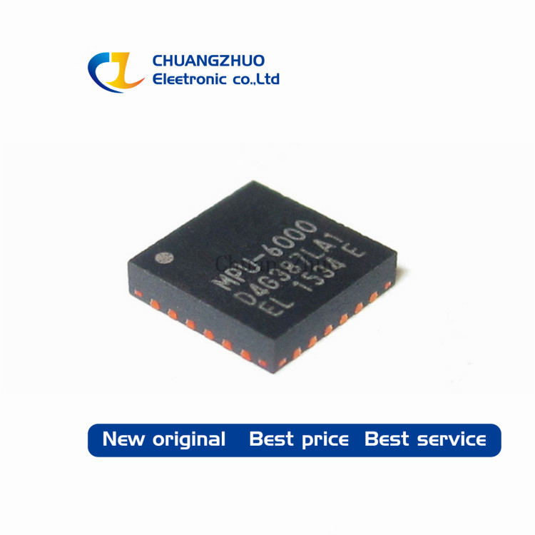 MPU-6000 MPU6000 Accelerometer, Gyroscope, 3 Axis Sensor IC, SPI Output